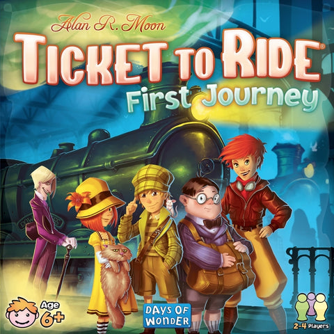 Ticket to Ride Game - First Journeys