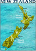 A3 Map of New Zealand