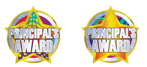 Principal's Foil Award Stickers