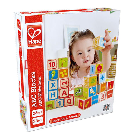 Hape ABC Blocks