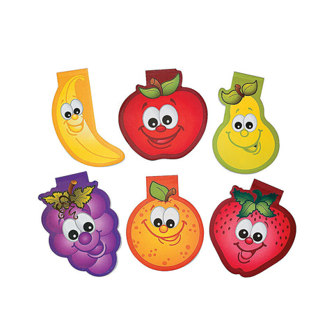 12 Fruit Notepads