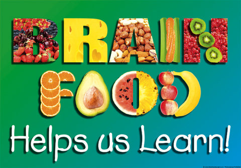 A3 Brain Food Poster