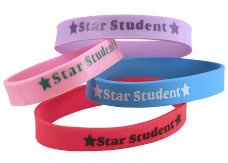 12 Star Student Wristbands