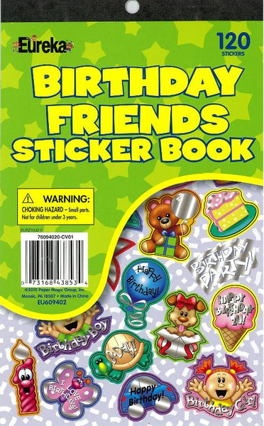 Birthday Friends Sticker Book