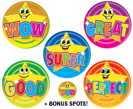 Great Star Stickers