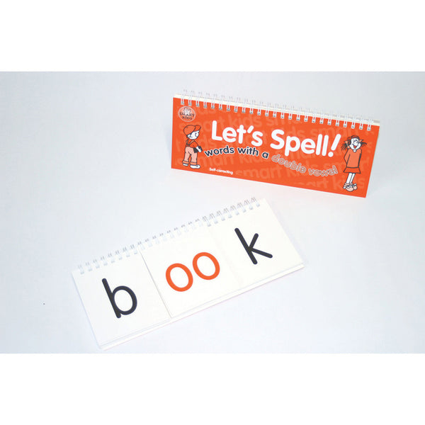 Let's Spell Flip Book - Double Vowel