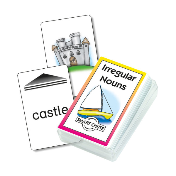 Irregular Nouns Card Pack