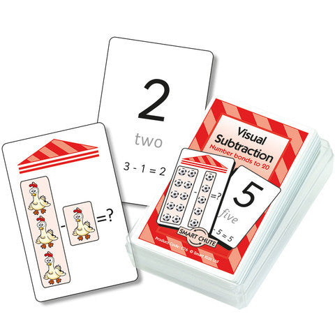 Visual Subtraction Card Pack