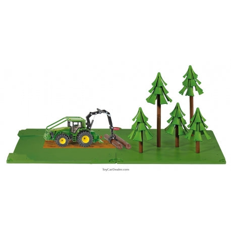 SIKU Forestry Set with John Deere Tractor