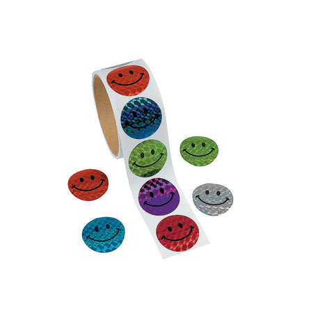 Laser Smiles Sticker Roll