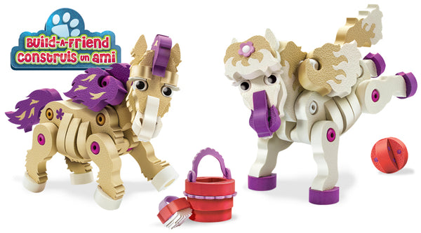 BLOCO Build a Friend Ponies