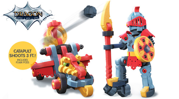 BLOCO Dragon Knight & Catapult