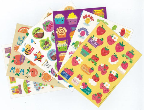Scratch & Sniff Sticker Variety Pack