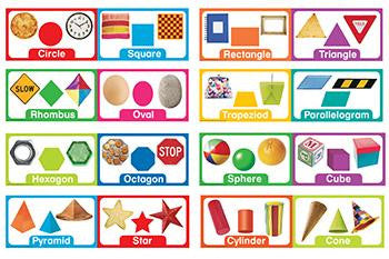 Shapes & Solids Mini Bulletin Board