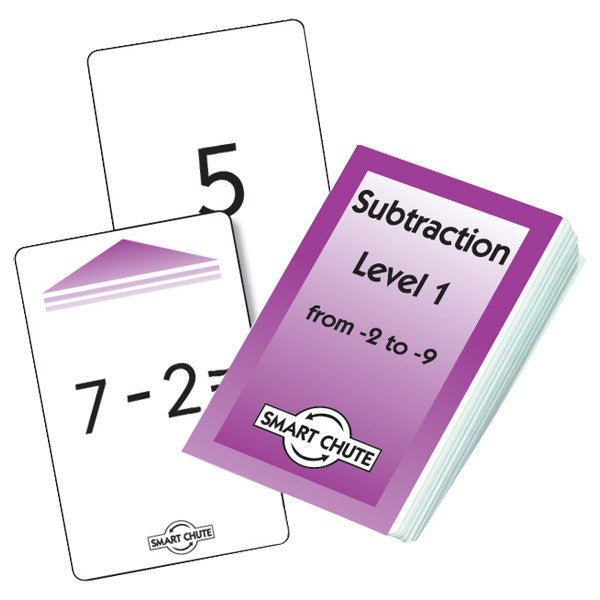 Subtration Level 1 Card Pack