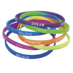 Think Positive Wristbands