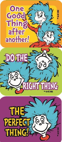 Thing 1 & 2 Stickers
