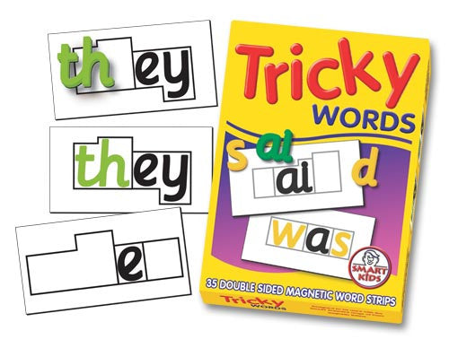 Tricky Word Magnets