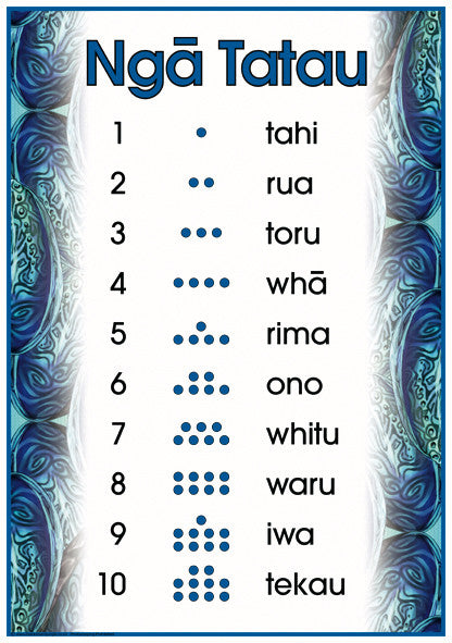 Māori Numbers to 10