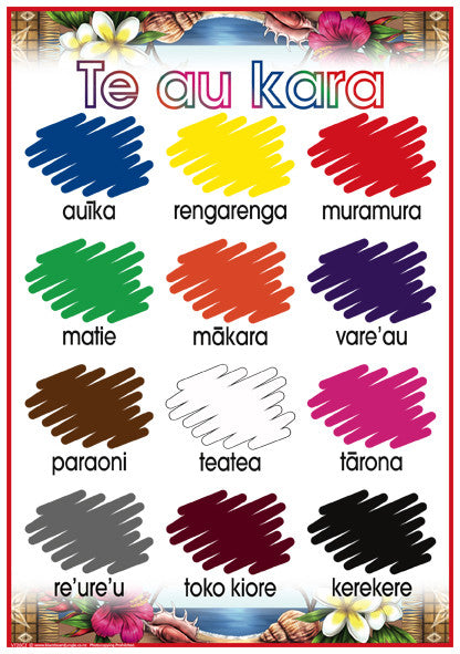 Cook Islands Maori Colours