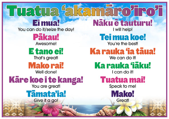 Cook Islands Maori Encouraging Words