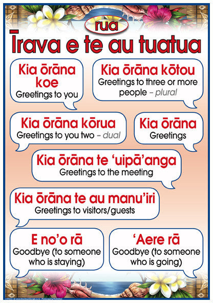 Cook islands maori phrases 2 blackboard jungle cook islands maori phrases 2 m4hsunfo Gallery