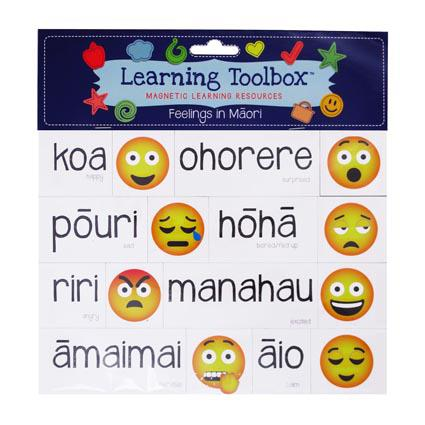 Magnetic Maori Feelings with Emojis