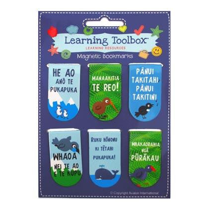 Magnetic Te Reo Bookmarks