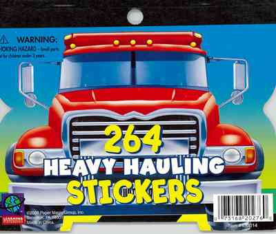 264 Heavy Hauling Mini Stickerbook