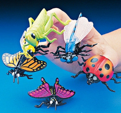 12 Insect Finger Puppets