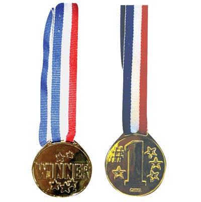 12 Gold Winner's Medals