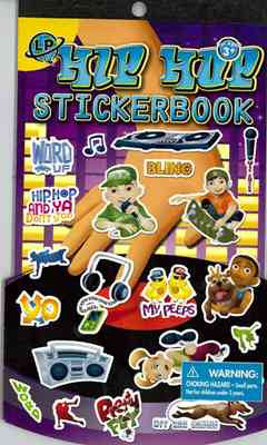 504 Hip Hop Stickerbook
