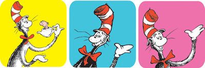Cat in the Hat Theme Stickers