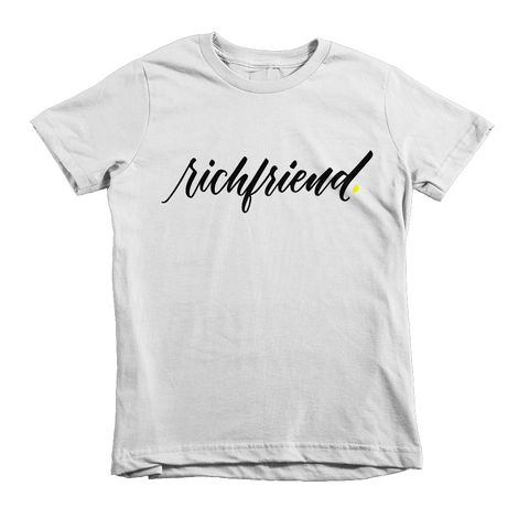 NEW! Rich Friends Kid's Tee
