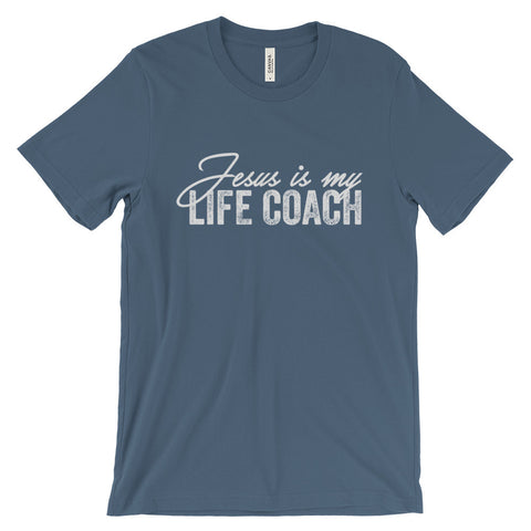 Jesus is My Lifecoach Tshirt