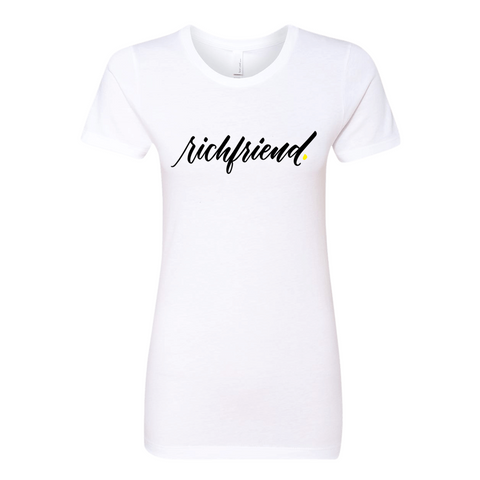 NEW! Rich Friends Women's Tee