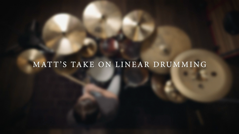 Matt's Take on Linear Drumming