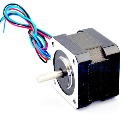 Nema 17 Stepper Motor 34mm 12V 0.4A 26Ncm(37oz.in) 17HS13-0404S - PrintIt Industries