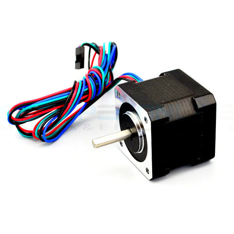 3D Printer Nema 17 Stepper Motor 2A 45Ncm(64oz.in) 17HS16-2004S1 - PrintIt Industries