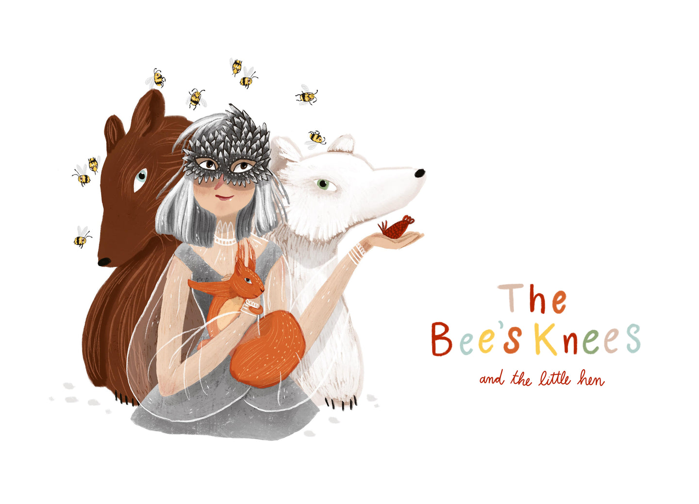 The Bees Knees - knitting book for children