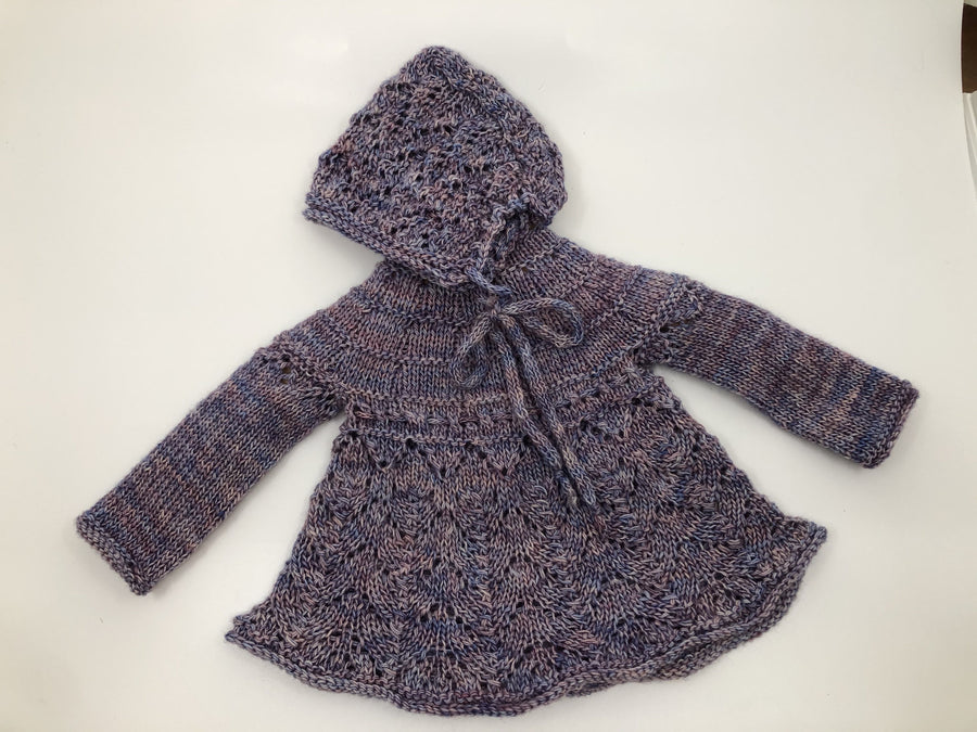 Newborn Merino Top with Hat