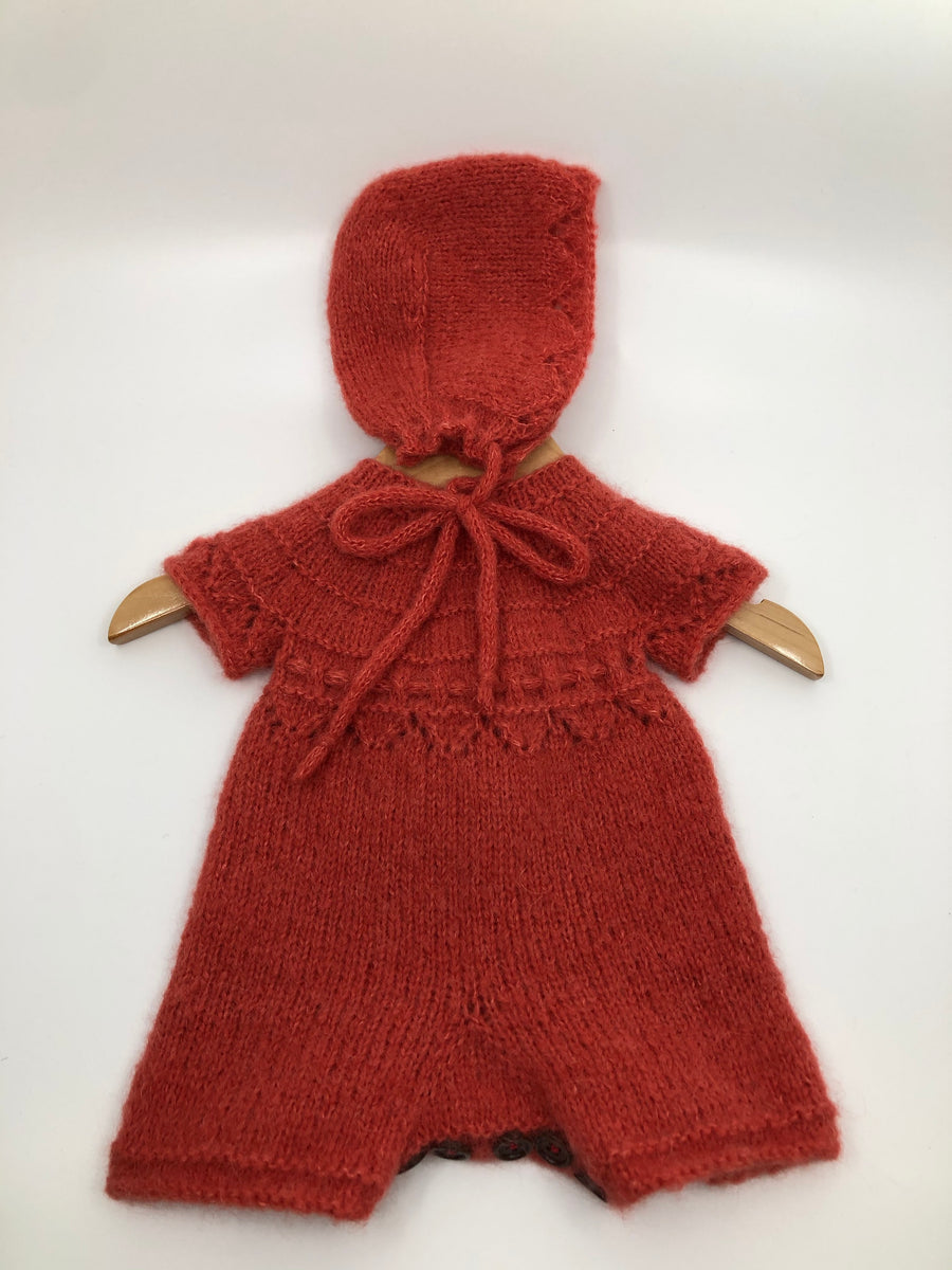 Newborn Romper with Hat