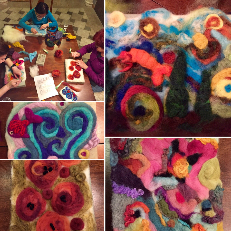Paint with Wool Workshop