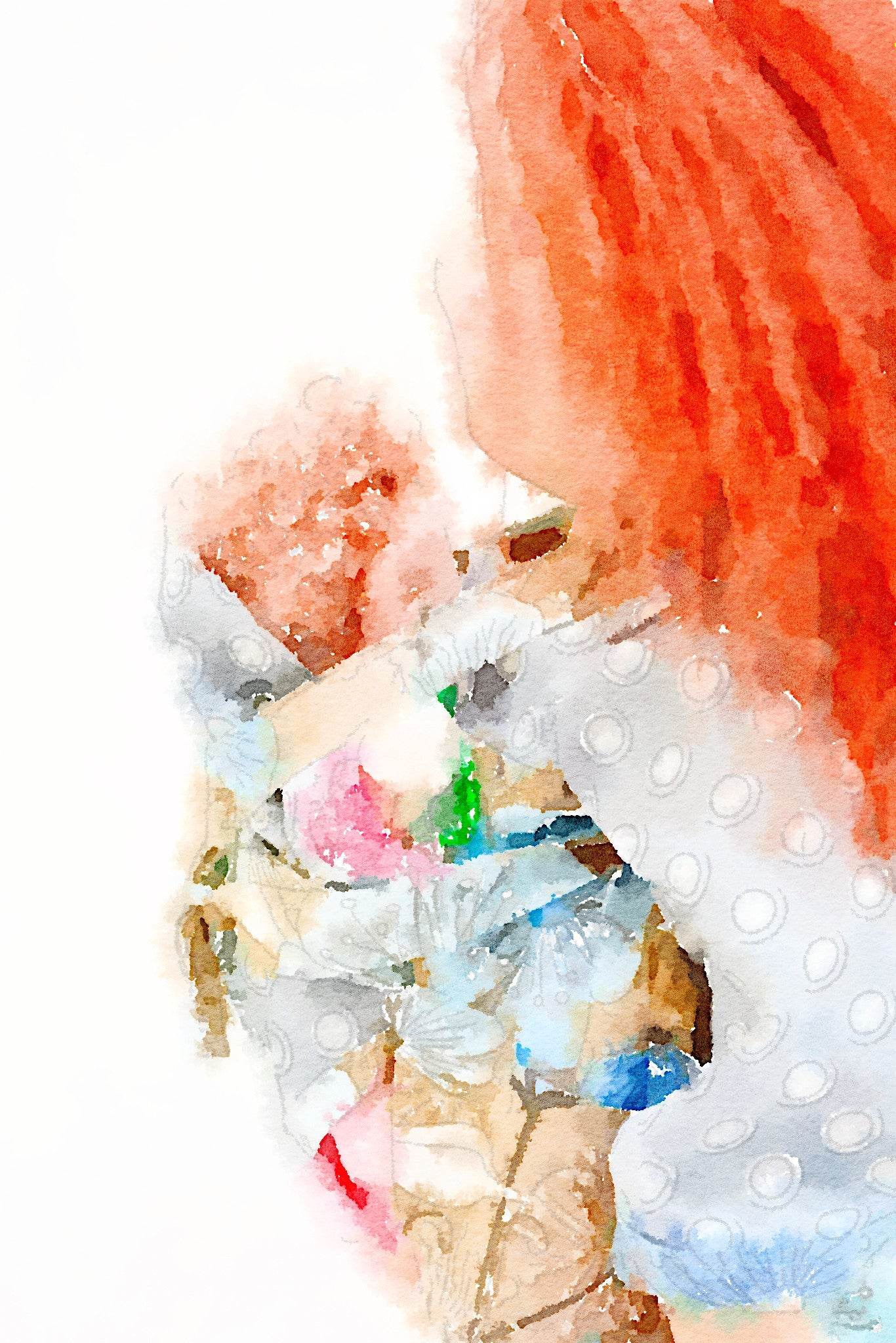 Digital Nursery Art - Wash day