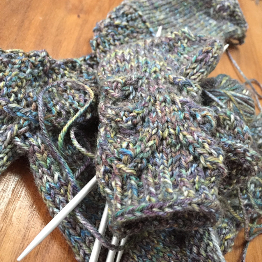 Dragon sock pattern for Dolls