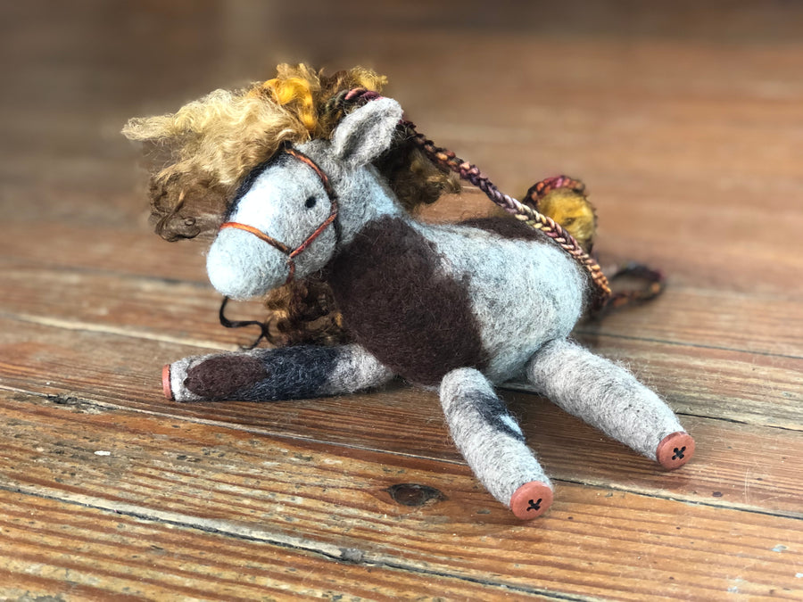 Tilly - the horse marionette