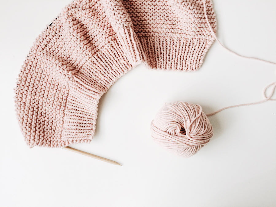 Learn to knit - February