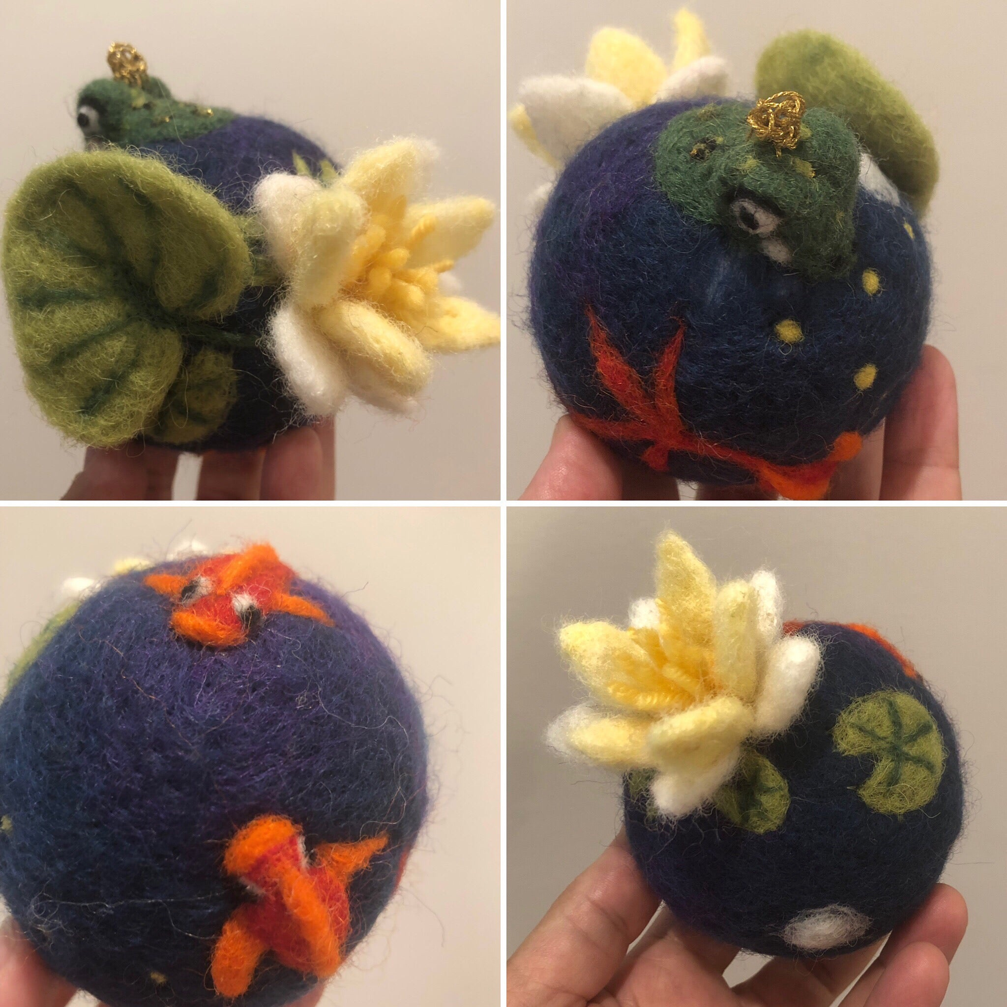 Little World, Small World, Tiny World, Wool World, Children, gift, baby nursery, felted, wall hanging, home decor, felted, wool, wool fiber, 3D felted. fiber art, art, handmade, hand felted, wet felted, needle felted, toy,