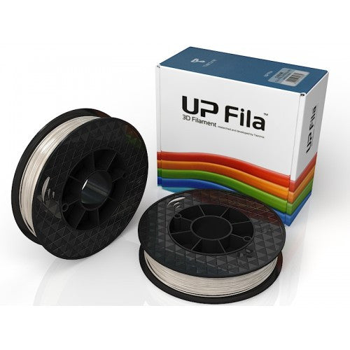 UP PLA Filament 2x500g rolls - Clear gloss