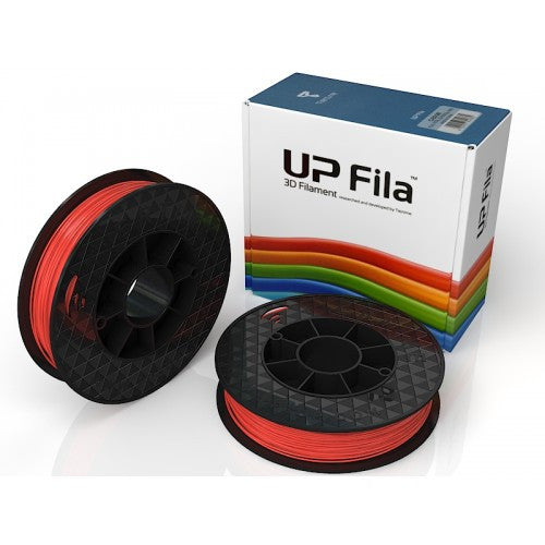 UP PLA Filament 2x500g rolls - Scarlet orange gloss